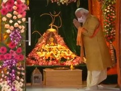 "Ayodhya Ram Mandir <i>Bhoomi Pujan</i> Live Updates: ""India Is Emotional, Decades-Long Wait Has Come To An End,"" Says PM"