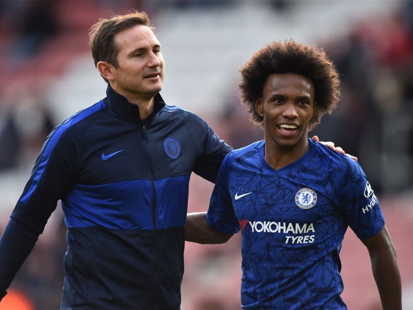 """His Decision"": Frank Lampard On Willian's Future At Chelsea 