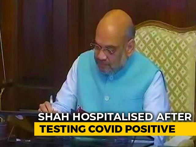 Video : Leaders, Supporters Tweet Get-Well-Soon For Amit Shah, COVID-19 Positive