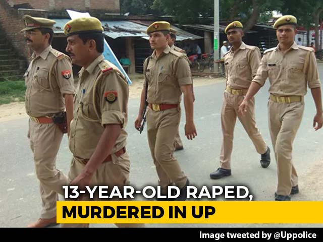 Video : 13-Year-Old Raped, Strangled In UP; Cops Deny Eyes Gouged, Tongue Cut