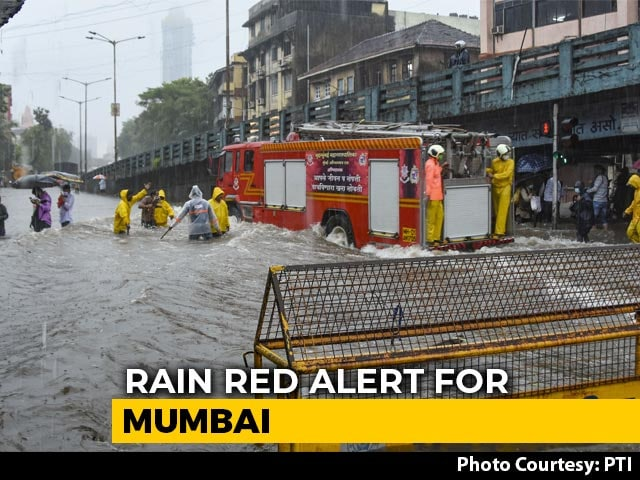Video : Heavy Rain Alert Again In Mumbai