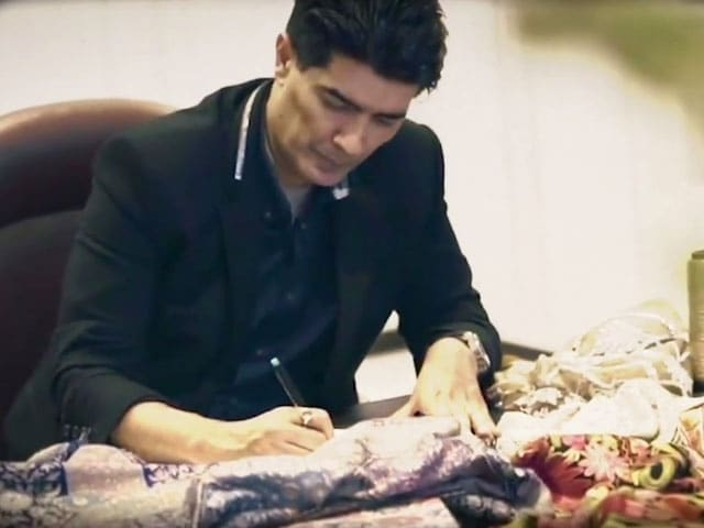 Video : Designer Manish Malhotra Gives Us A Quick Look At Kashmiri Embroidery