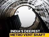 Video: Amid COVID-19 Pandemic, India's Deepest Metro Vent Shaft Completed In Kolkata | NDTV Beeps