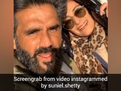 सुनील शेट्टी ने बीवी को रोमांटिक अंदाज में किया बर्थडे विश, Video हुआ वायरल