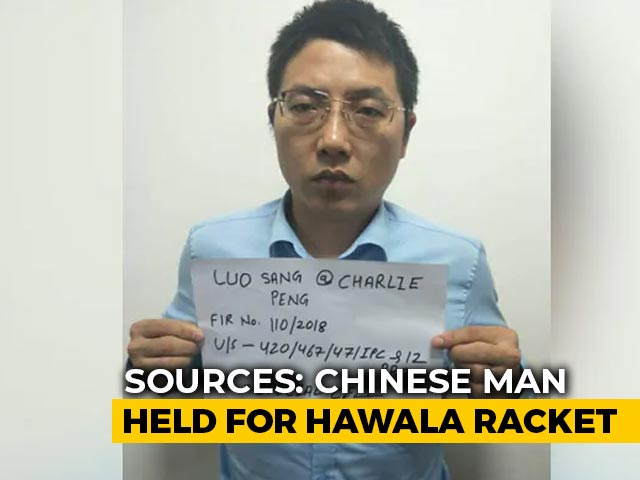 Video : Chinese Man Held For Hawala Racket Was Also After Dalai Lama: Sources
