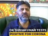 Video : Karnataka Congress Chief DK Shivakumar Tests Covid Positive, Hospitalised
