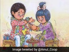Maska Bandhan: Amul Celebrates Bond Between Siblings With New Doodle