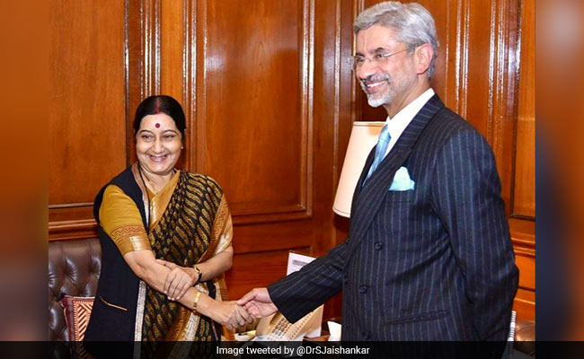 Tributes Pour In On Sushma Swaraj's First Death Anniversary Today