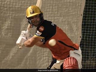 """Very Enjoyable"": AB De Villiers Hits Royal Challengers Bangalore Nets In Dubai. Watch"