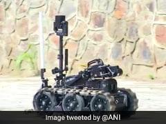 दिल्ली में ISIS का आतंकी, NSG कमांडो ने इस मशीन का किया इस्तेमाल, Video