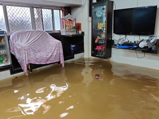 Video : Mumbai Rain: Inside A Flooded House