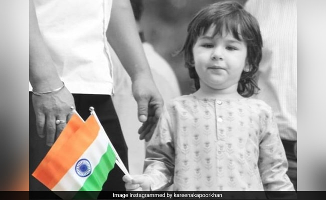 Independence Day 2020: Pics From Taimur, Inaaya And Mehr's Celebrations