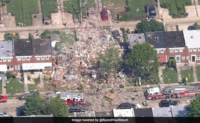 1 Dead, Several Injured As Explosion Flattens Baltimore Homes