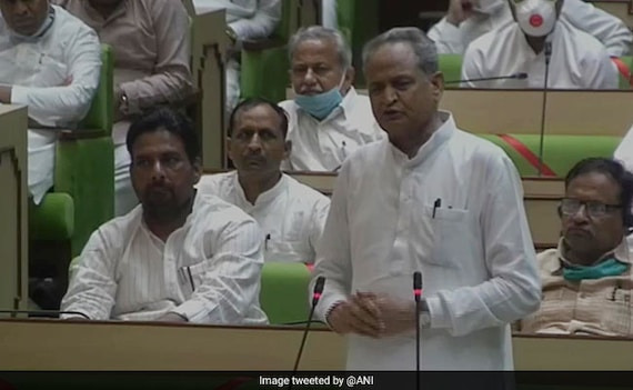 'United' Ashok Gehlot Government Wins Rajasthan Trust Vote: 10 Points
