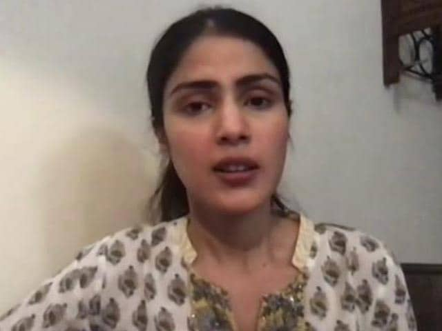"Video : ""MeToo"" Allegations, Awards Snub Upset Sushant: Rhea Chakraborty To NDTV"