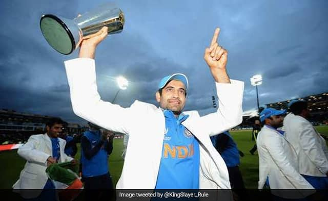 Irfan Pathan only bowler who has Most ODI wickets without appearing in a World Cup