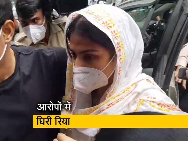 Video : सुशांत केस : दूसरी बार ED दफ्तर में हाजिर हुईं रिया