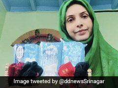 Kashmiri Woman Provides Free Sanitary Napkins To Needy Amid Lockdown