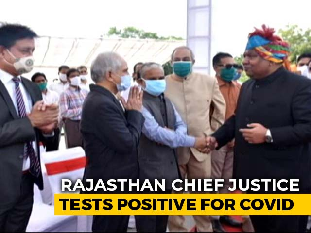 Video : Rajasthan Chief Justice Has Tested Coronavirus Positive: Ashok Gehlot