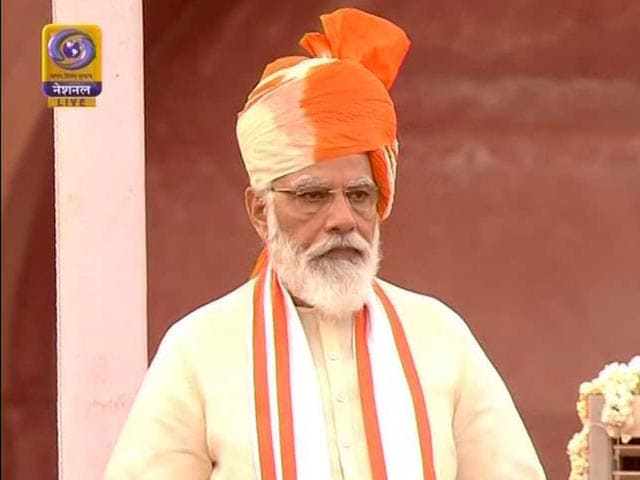 """Video : """"Salute Our Corona Warriors,"""" Says PM On Independence Day"""