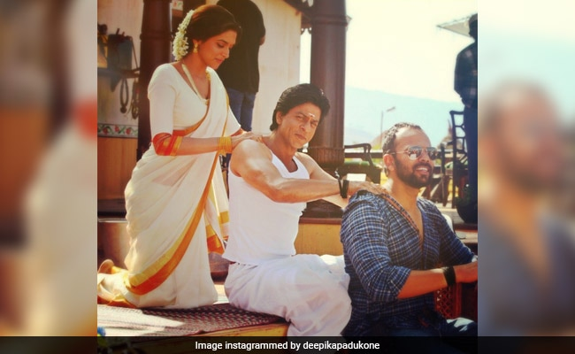 Deepika Padukone On Board Throwback Express, Shares BTS Memories With Shah Rukh Khan And Rohit Shetty