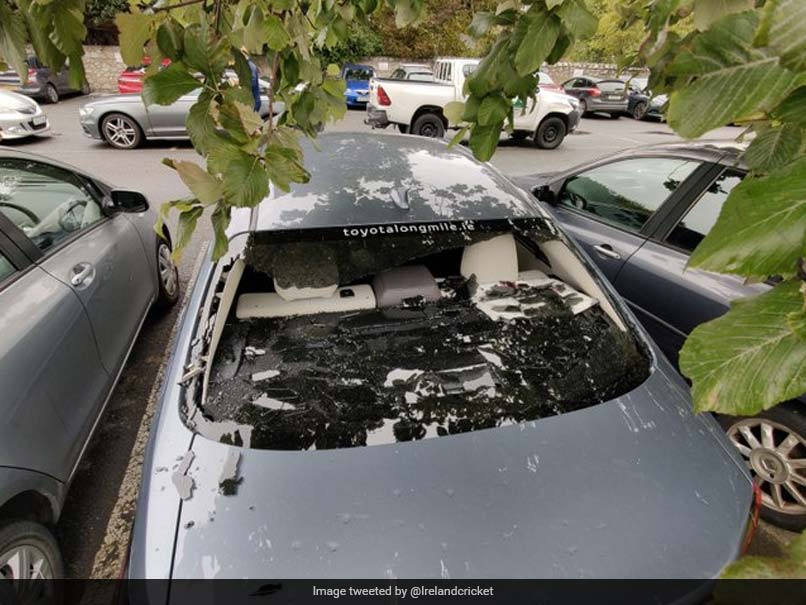 Kevin O'Brien Smashes His Own Car Window With Massive Six