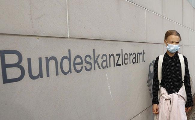 Angela Merkel Hosts Greta Thunberg For Talks On Climate Crisis