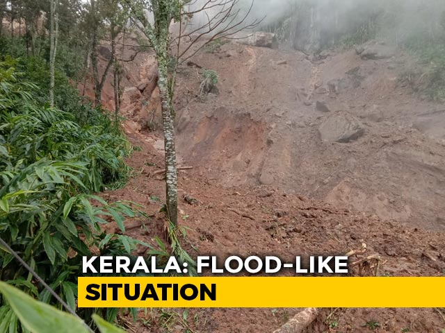 Video : Heavy Rain Leads To Landslides, Water-Logging In Kerala | NDTV Beeps