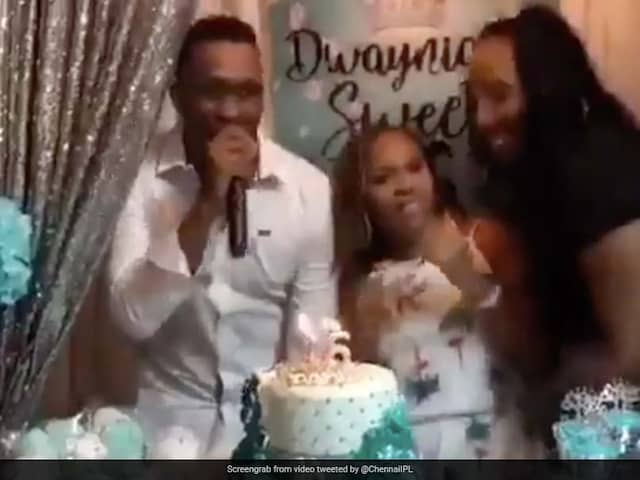 """Dwayne Bravo And Friends Groove To """"Champion"""" Song At Daughters Birthday Party. Watch"""