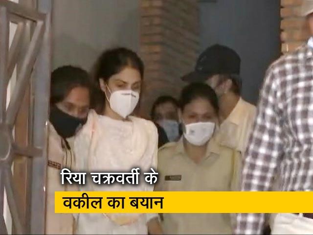 Video : आदित्य ठाकरे से कभी नहीं मिलीं रिया चक्रवर्ती : वकील