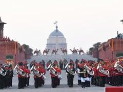 स्वतंत्रता दिवस के मौके पर आर्मी, नेवी और एयरफोर्स के म्यूजिकल बैंड के परफॉर्मेंस