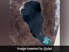 "What Caused This Remote Lake To Turn An ""Unusual Shade Of Turquoise"""