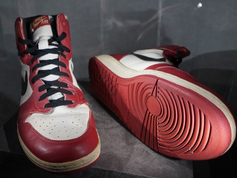 Michael Jordan's sneakers sell for $615000, new record