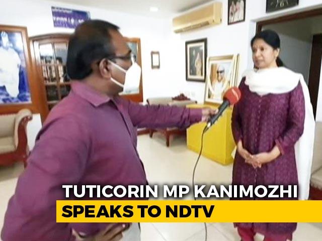 Video : DMK MP Kanimozhi Welcomes Madras High Court Verdict Against Sterlite