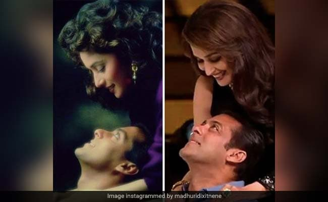 Madhuri Dixit Shares Hum Aapke Hain Koun  Memory With Salman Khan As The Film Clocks 26 Years