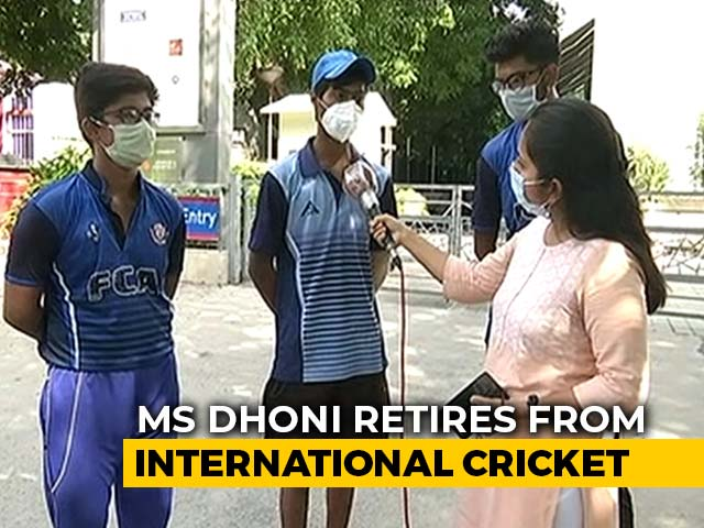 Video : MS Dhoni's Teen Fans Say He Has Inspired Them To Dream Big