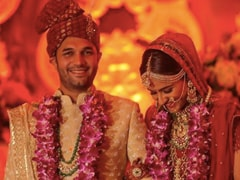 Viral: Pics From <I>Diya Aur Baati Hum</I> Actress Prachi Tehlan And Rohit Saroha's Wedding