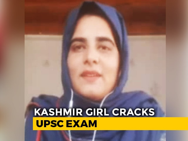 Video : At 23, J&K's Nadia Beigh Is One Of The Youngest To Clear UPSC Exams