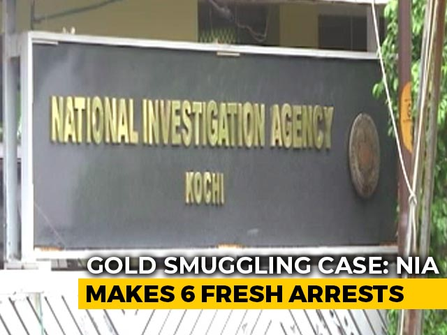 Video : 6 More Arrests In Kerala Gold Smuggling Case, 10 Arrested So Far: NIA