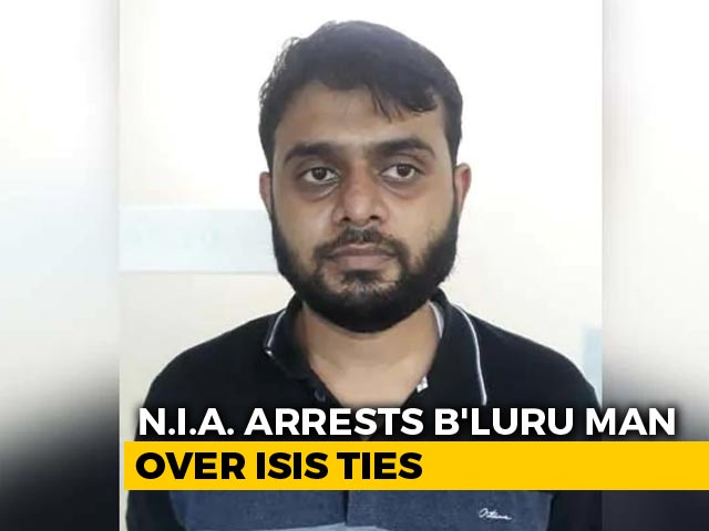 Video : Bengaluru Doctor, 28, Arrested For Alleged ISIS Links