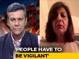 Video : Daily Surge In Numbers Worrying: Kiran Mazumdar Shaw