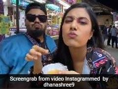 युजवेंद्र चहल की मंगेतर Dhanashree Verma ने गोल गप्पे खाते हुए हिमेश रेशमिया के गाने पर किया डांस, देखें धांसू Video