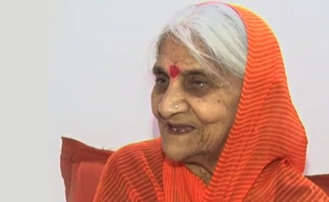 Madhya Pradesh Woman, 88, Continues Her 28-Year-Old Fast For Ram Temple