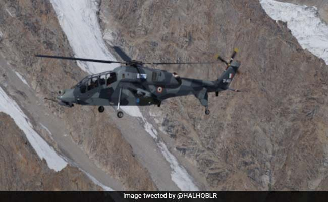 2 HAL Light Combat Helicopters Deployed For Operations In Leh