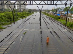 See Mumbai Rain In Pics, Red Alert For 48 Hours