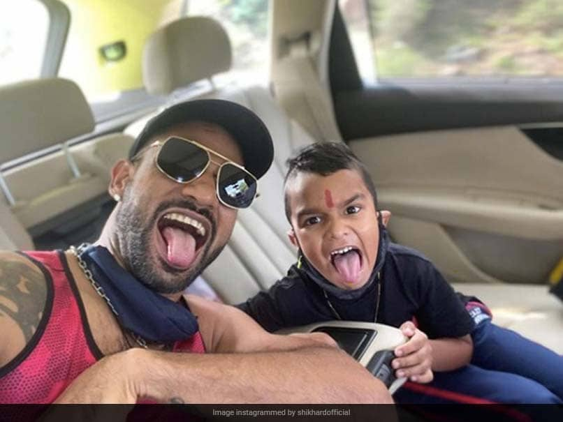 Shikhar Dhawans Harry Potter Reference In Latest Picture With His Son