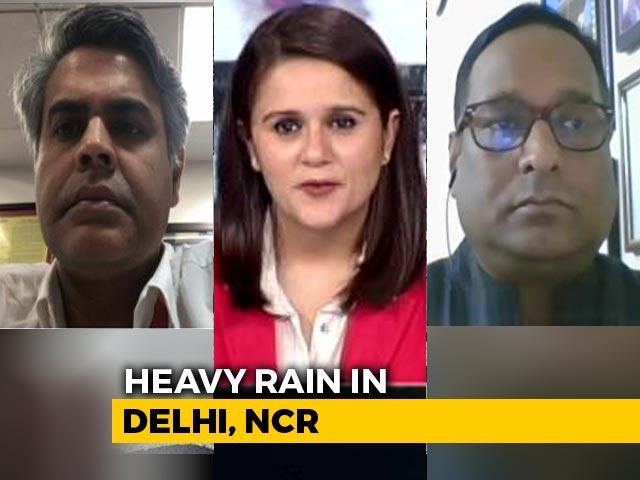 Video : Roads Or Rivers? Waterlogging In Delhi, Surrounding Areas After Heavy Rain