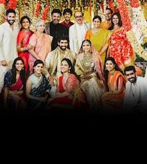 A Perfect Family Pic From Miheeka And Rana's Wedding. Courtesy Samantha