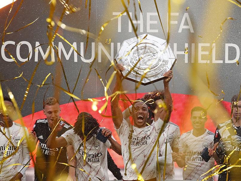 Pierre-Emerick Aubameyang Stars As Arsenal Beat Liverpool To Claim Community Shield