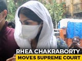 "Video : Rhea Chakraborty Goes To Supreme Court Over ""Unfair Media Trial"""